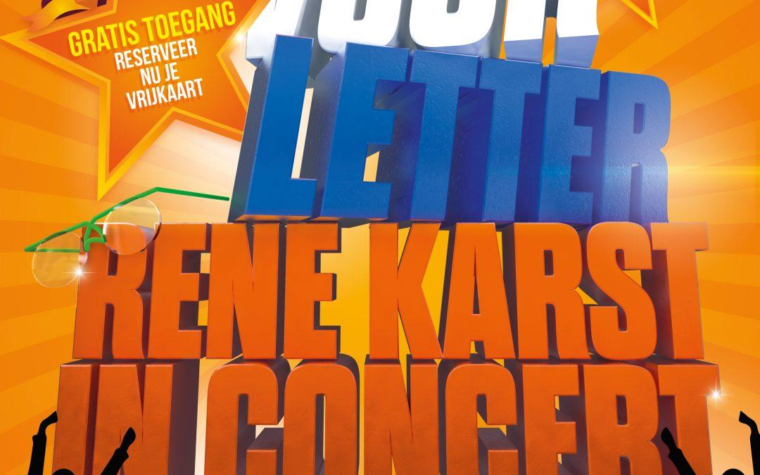 Posters Met Letter : Letter voor letter met rene karst en carola smit welzijn de wolden