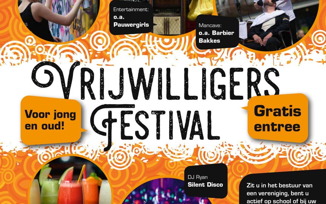 Vrijdag 19 oktober, Vrijwilligersfestival De Wolden!